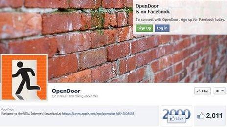 OpenDoor on Facebook