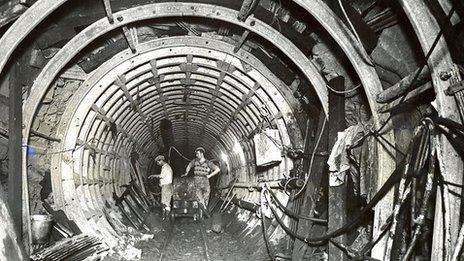 Haweswater Aqueduct construction