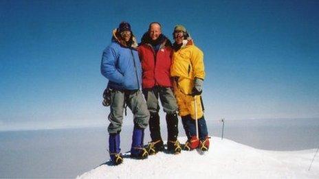 Denali summit, North America. July 2004