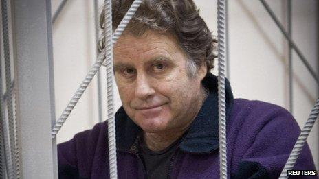 Greenpeace campaigner Peter Willcox