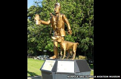 Airman statue