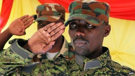 M23 military leader Sultani Makenga (file pic March 2013)