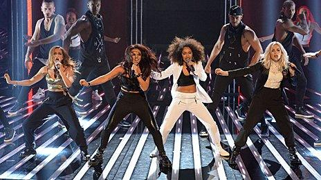 Little Mix perform Move on X Factor