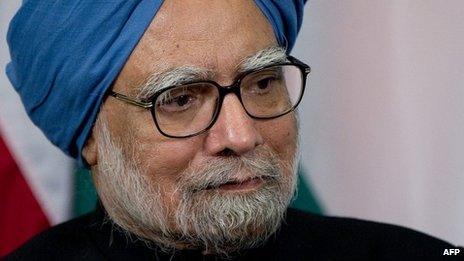 Indian Prime Minister Manmohan Singh (file image)