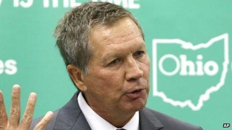 Ohio state governor John Kasich
