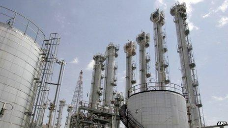 Heavy-water plant in Arak, Iran - which some Western powers insist must be shut down (file image from 2006)