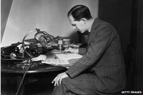 Novelist writing