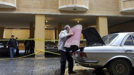 Lakkis was attacked in the car park of the building where he lived