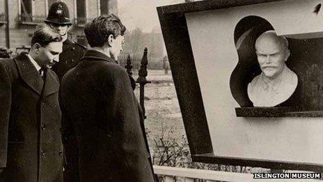 The Bust of Lenin in Islington