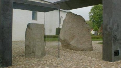 The Jelling Monument, Jutland, Denmark