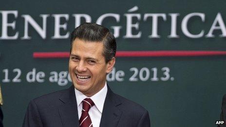 Pena Nieto presents the bill in August 2013