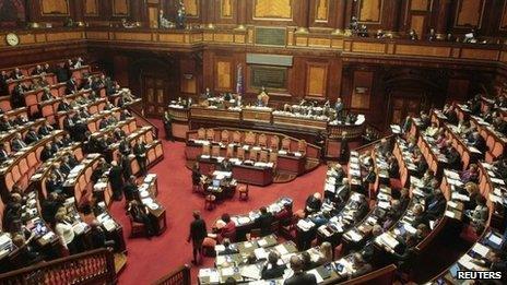 Italian Senate (file photo)