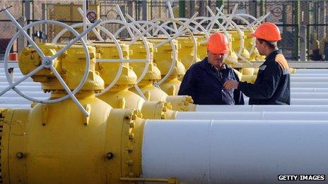 Gas pipes Ukraine