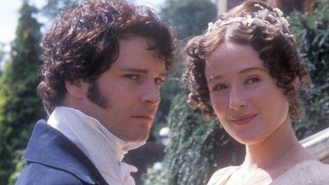 Colin Firth and Jennifer Ehle in Pride and Prejudice (1995)