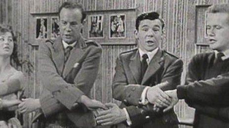 Andy Stewart and pals