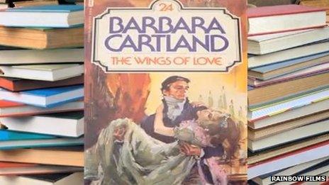 The books of Barbara Cartland