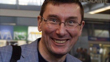 Former interior minister and leading opposition figure Yuriy Lutsenko