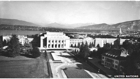 When the Palace of Nations opened it was the second largest in Europe after Versailles.