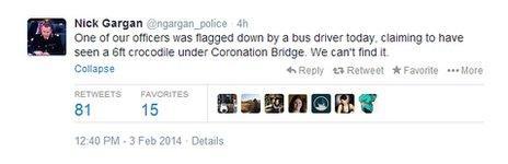 Chief constable crocodile tweet