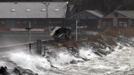 Rheilffordd y Cob, Porthmadog