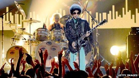 Prince at Billboard music Awards