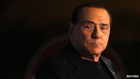 File picture (2013) of Silvio Berlusconi