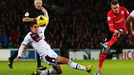 Cardiff v Aston Villa