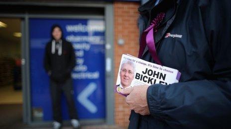 UKIP candidate John Bickley