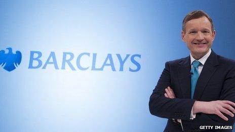 Antony Jenkins Chief Executive of Barclays