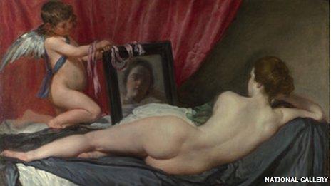 Painting - the Rokeby Venus