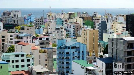 Male, the Maldives' capital
