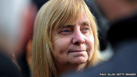 Chairwoman of the Hillsborough Families Support Group, Margaret Aspinall