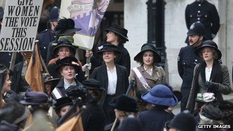 Scene from Suffragette