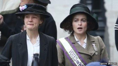 Stars Carey Mulligan and Helena Bonham Carter
