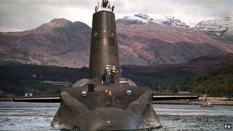 HMS Vanguard air Linne Chluaidh