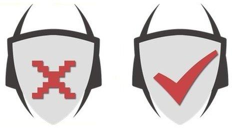 Virus Shield icons