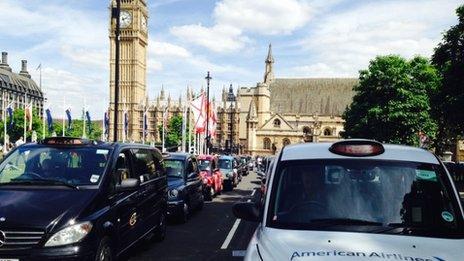 Taxi strike