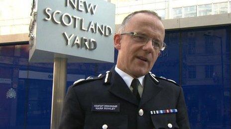 Metropolitan Police Assistant Commissioner Mark Rowley