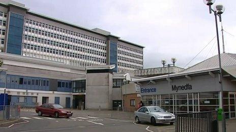 Ysbyty Athrofaol Cymru yng Nghaerdydd