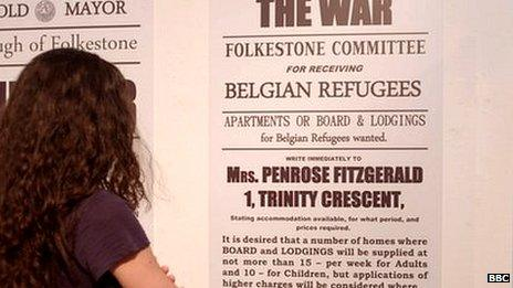 Refugees exhibition