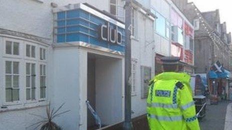 Sailor's nightclub in Newquay