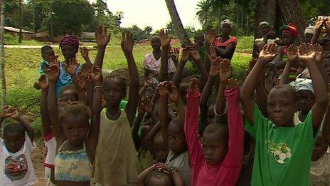 Kigbal village orphans
