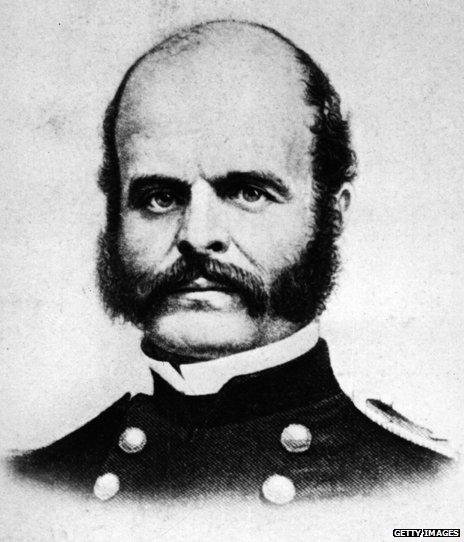 Major General Ambrose Burnside
