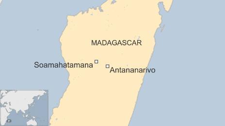 A map of Soamahatamana