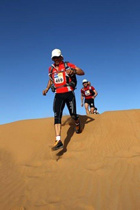 Mauro has run many desert races