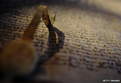 1217 copy of Magna Carta