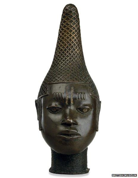 Head of a Queen Mother, Empire of Benin, early 16th century AD