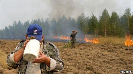 Wildfires, Moscow region