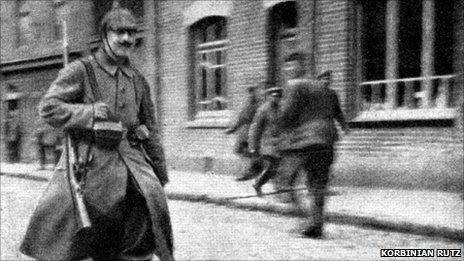 Image said to show Hitler in 1915 [Pic: Korbinian Rutz]