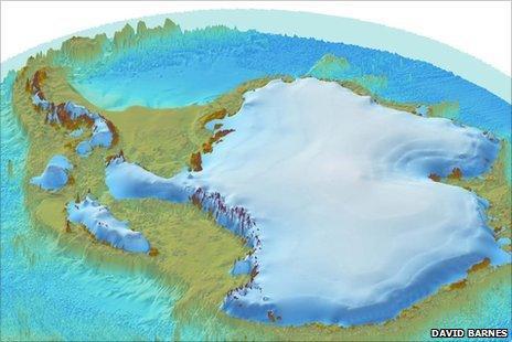 Antarctica 125,000 years ago (David Barnes)